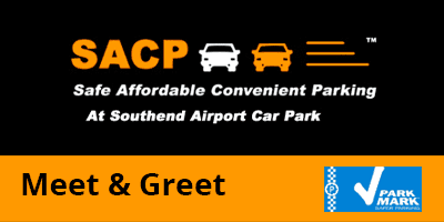SACP Meet & Greet Southend Airport Logo