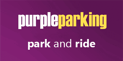 Purple Parking Gatwick Airport Logo
