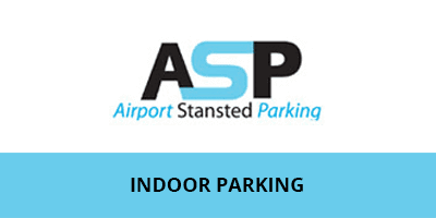 ASP Indoor Park & Ride Stansted Airport Logo