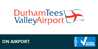 Durham Tees On Airport Parking Logo