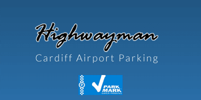 Highwayman Cardiff Airport Logo