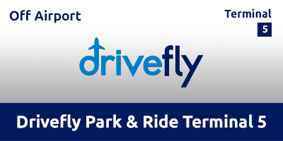 Drivefly Park & Ride T5 Heathrow Airport LHW2