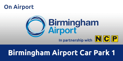Birmingham Airport Car Park 1 Parking BHX5