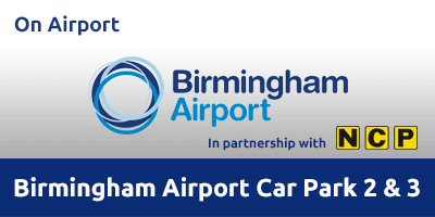 Birmingham Airport Car Park 2 & 3 Parking BHXA