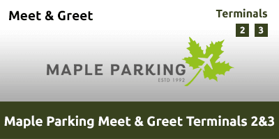 Maple Parking Meet & Greet Terminal 2 & 3 Heathrow Airport LHAI