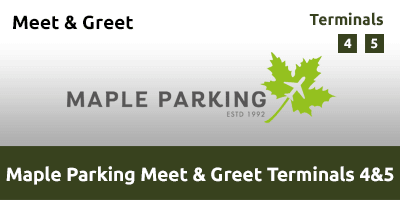 Maple Parking Meet & Greet Terminal 4 & 5 LHAT