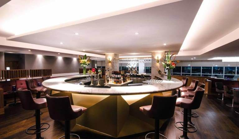 Gatwick Airport no1 lounge bar