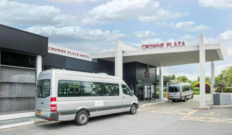 Terminal 2 Crowne Plaza MAN Shuttle Bus