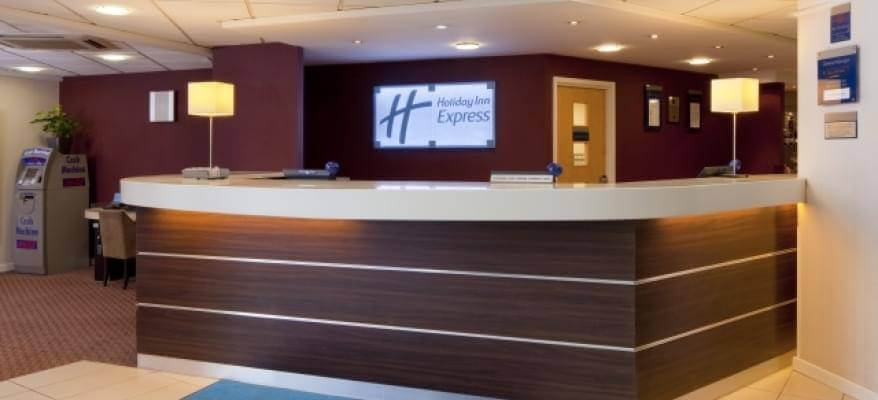 Holiday Inn Express Stansted Reception