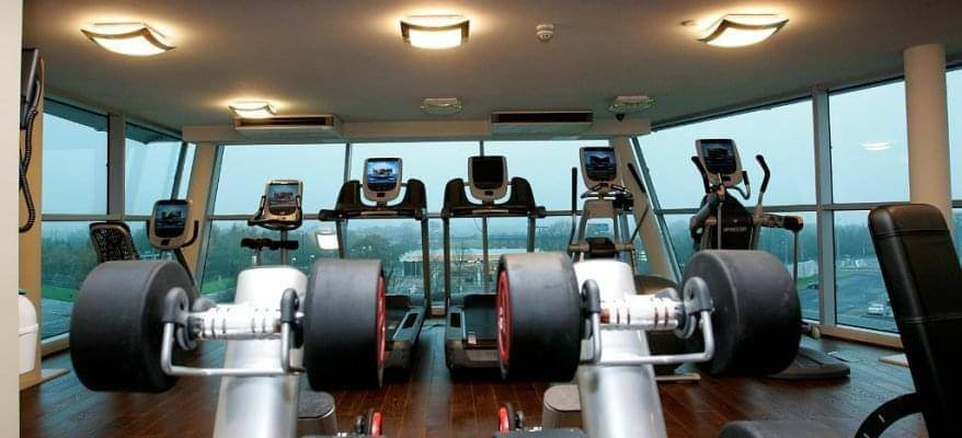Doubletree By Hilton Newcastle Airport Gym