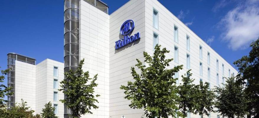 Hilton London Gatwick Airport Exterior Day
