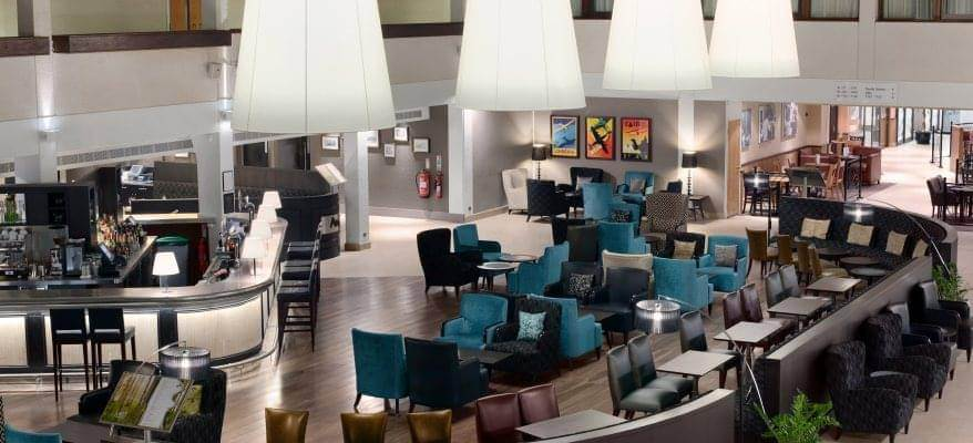 Hilton London Gatwick Airport Foyer