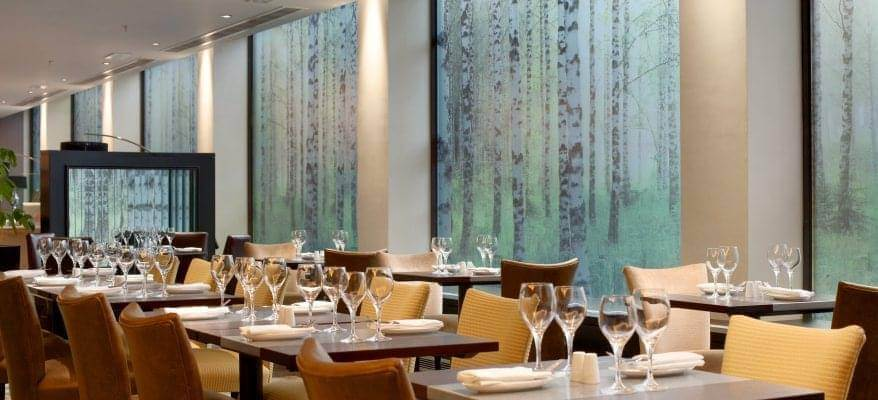 Hilton London Gatwick Airport Restaurant Seating