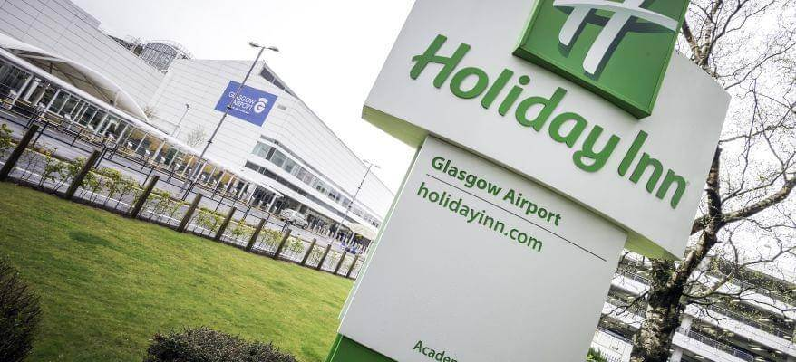 Holiday Inn Glasgow International Airport Terminal With Sign