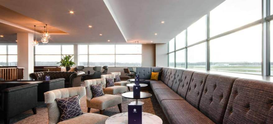 No1 Lounge South Terminal Gatwick Airport day lounge