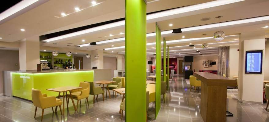 Escape Lounge Terminal 1 Manchester Airport Open Plan