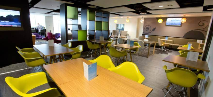 Escape Lounge Terminal 2 Manchester Airport Restaurant
