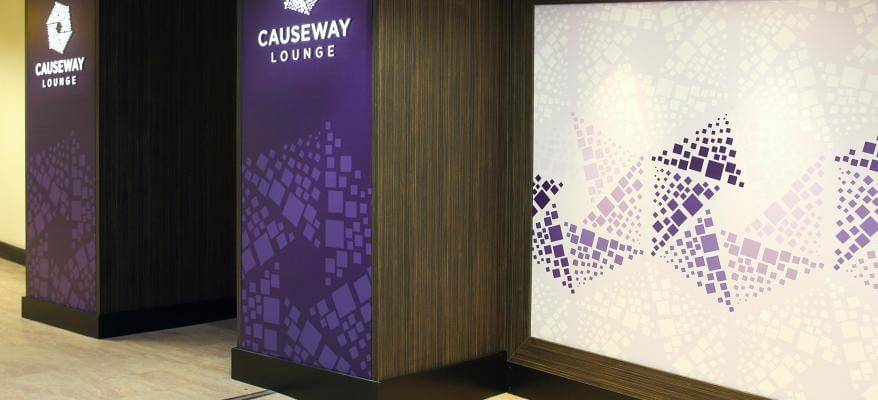 The Causeway Lounge Belfast International Airport Entrance8
