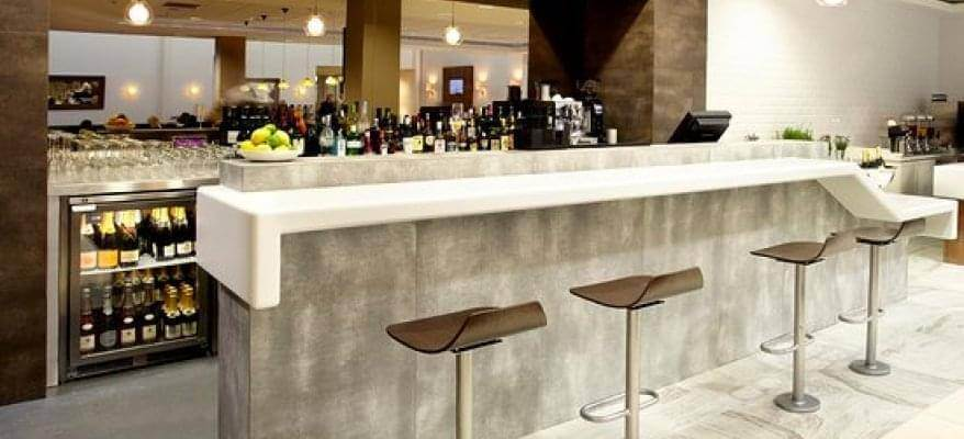No1 Lounge Edinburgh Airport Bar(1)