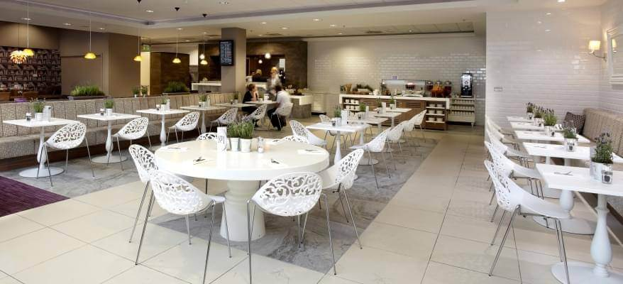 No1 Lounge Edinburgh Airport Bistro