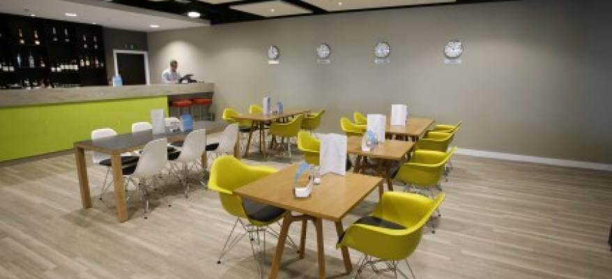 Escape Lounge East Midlands Airport tables