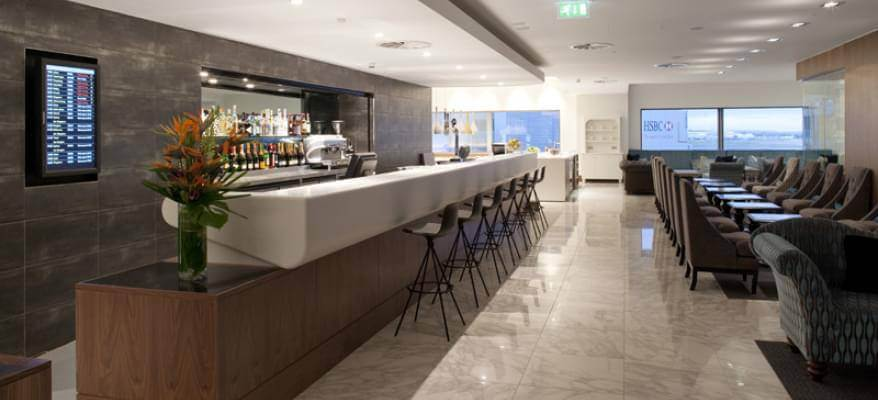 No1 Lounge Terminal 3 Heathrow Airport Bar 2