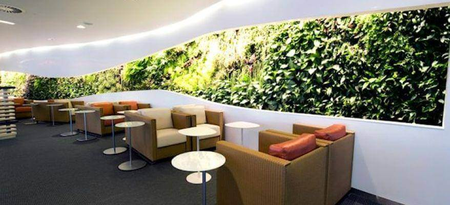 Skyteam Lounge Terminal 4 Heathrow Airport Garden
