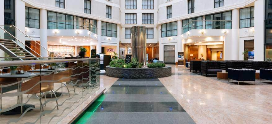Sofitel London Gatwick Hotel Dinner Package Lobby(1)