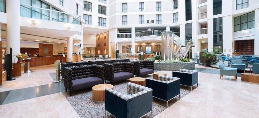 Sofitel London Gatwick Hotel Dinner Package Lobby 3(1)