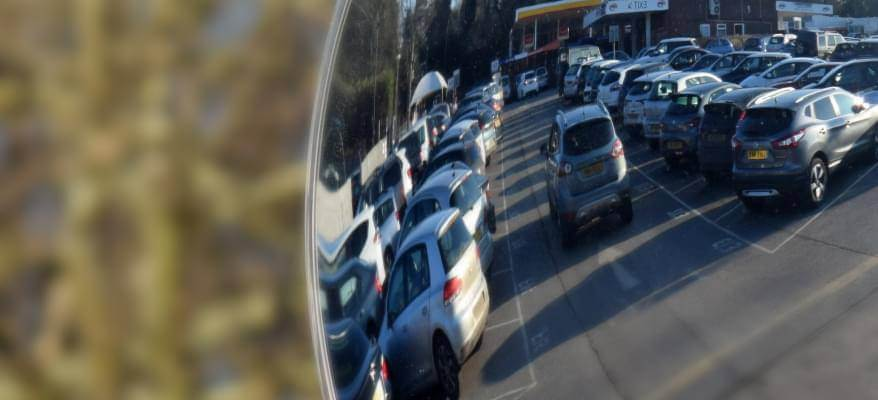 APH Car Park Gatwick Airport Car Park Mirror