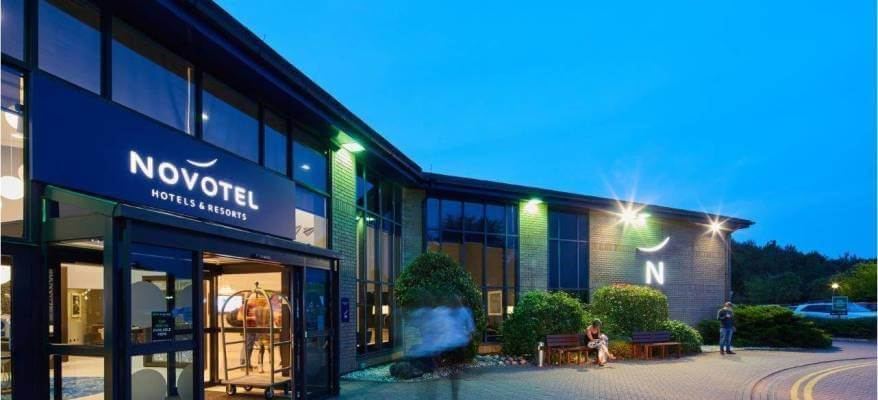 Novotel Hotel London Stansted Novotel London Stansted Night