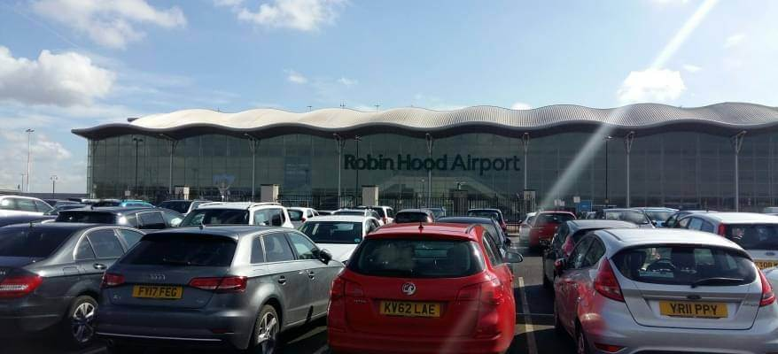 Doncaster Airport Long Stay Car Park CP 4