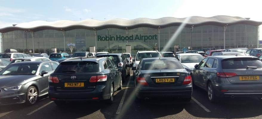 Doncaster Airport Long Stay Car Park CP 5
