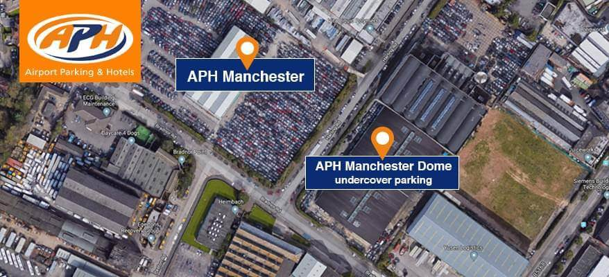 APH Manchester Airport Location Map