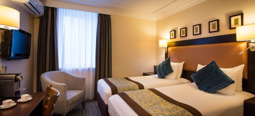 Thistle London Heathrow Terminal 5 Standard Twin Bedded Room JPEG
