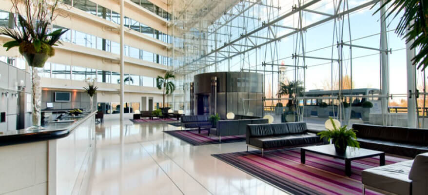 Hilton Hotel Heathrow Airport T4 Hilton T4 LHR Lobby