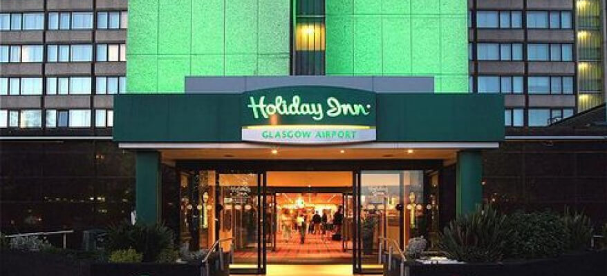 Holiday Inn Glasgow International Airport Exterior Night