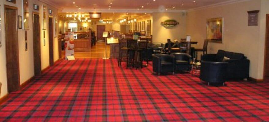 Holiday Inn Glasgow International Airport Lobby