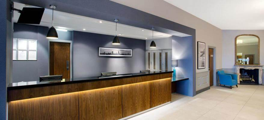 Jurys Inn Aberdeen Airport Reception