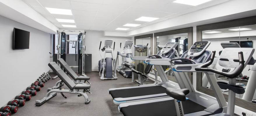 Jurys Inn Aberdeen Airport Gym