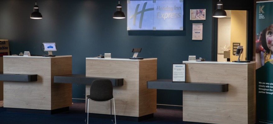 Holiday Inn Express Stansted Airport HI EXP STN Reception