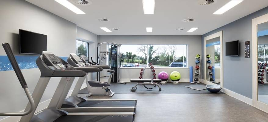 Hampton By Hilton Bristol Airport Gym
