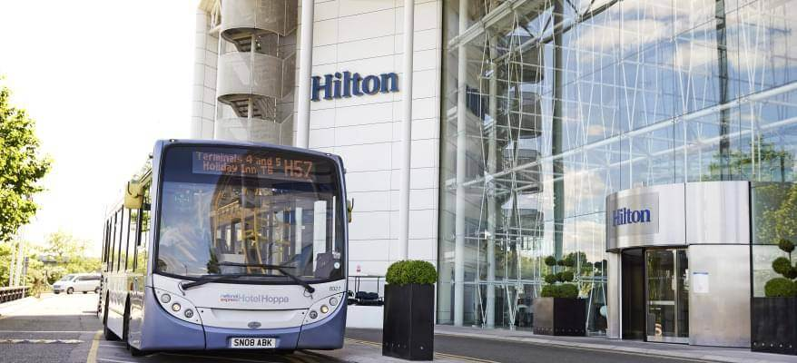 Hilton Heathrow Hotel T4 Exterior