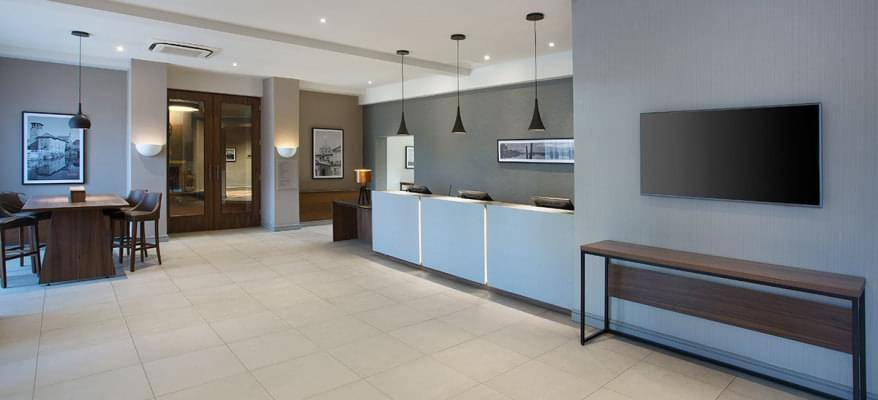 Jurys Inn East Midlands Reception