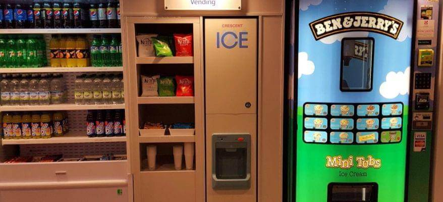 Holiday Inn Express Castle Bromwich Birmingham Airport Vending Area