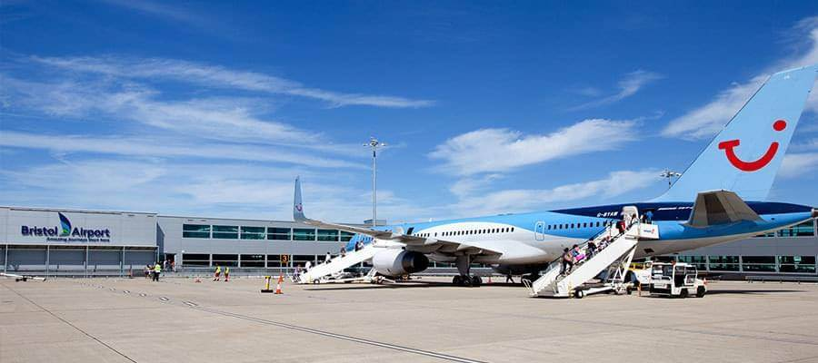 Bristol airport parking hotels lounges guide and more bristol airport bristol airport planes thomson plane m4hsunfo
