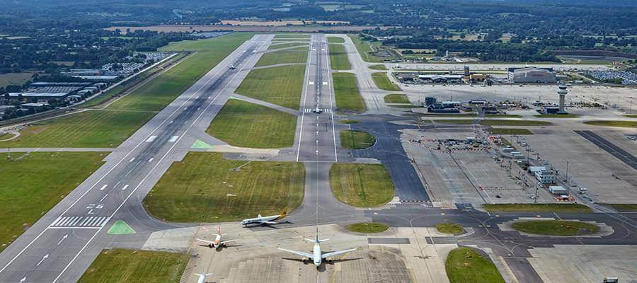 Gatwick Airport Gatwick Airport Plane Aerial