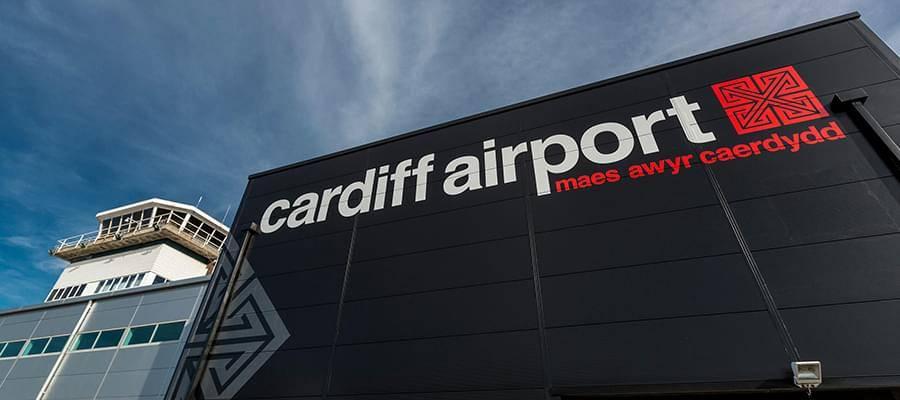 Cardiff Airport Car Park Map