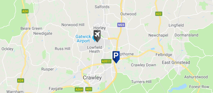 APH Parking at Gatwick Airport | Cheap Park & Ride Car Park