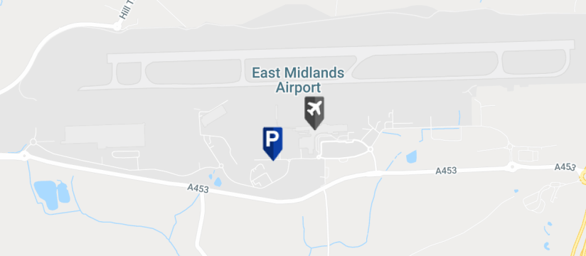East Midlands Airport Mid Stay 1, East Midlands Airport map